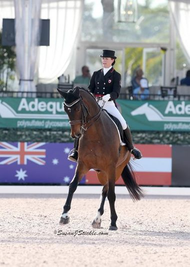 Belinda Trussell and Anton Win FEI Grand Prix CDI-W at AGDF 8
