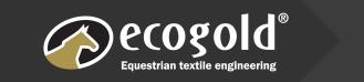 Ecogold equestrian Textiles