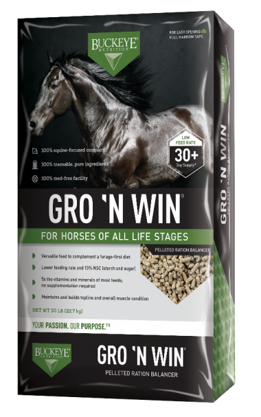 Buckeye Nutrition:  GRO 'N WIN