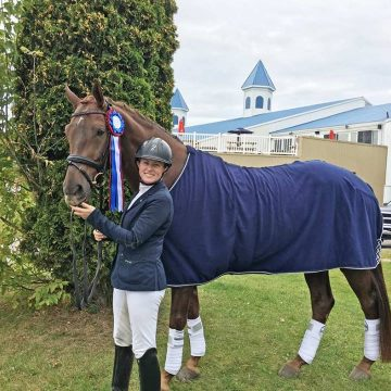 Canadian Eastern Dressage Championships-Beau