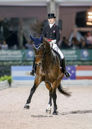 Bronze for Belinda Trussell and Anton in CDIO 3* Wellington Nations' Cup Freestyle