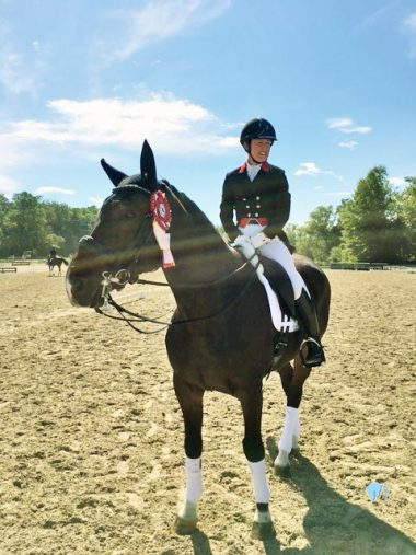 Saugerties:  Carlucci in the Prix St. George